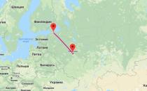 Время полета на самолете между Москвой и Санкт-Петербургом