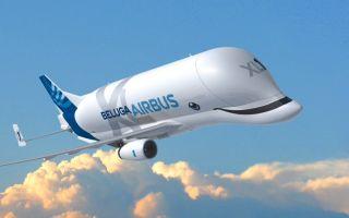Самолет Airbus Beluga