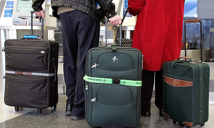 Перелет с багажом