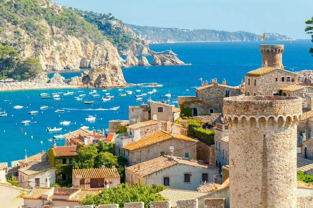 Вид в Испании