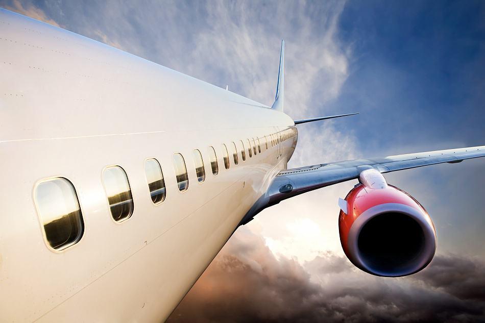 Вид самолета