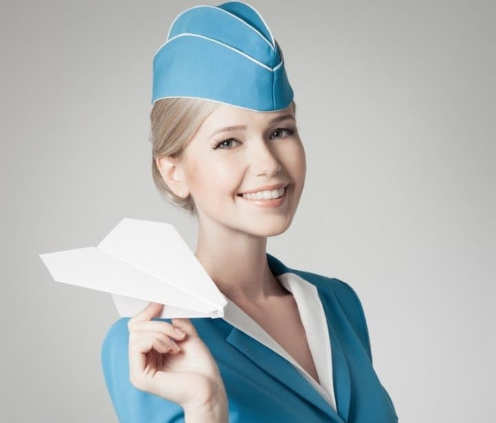 Милая стюардесса