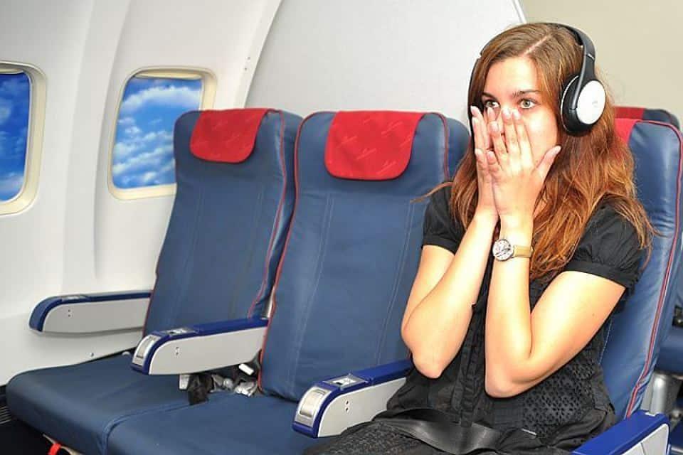 Страх в самолете