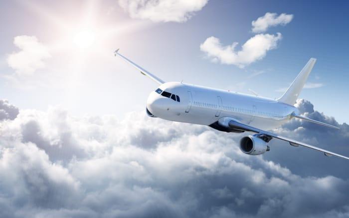 Перелет самолета