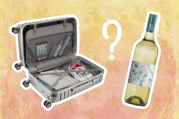Алкоголь в багаже