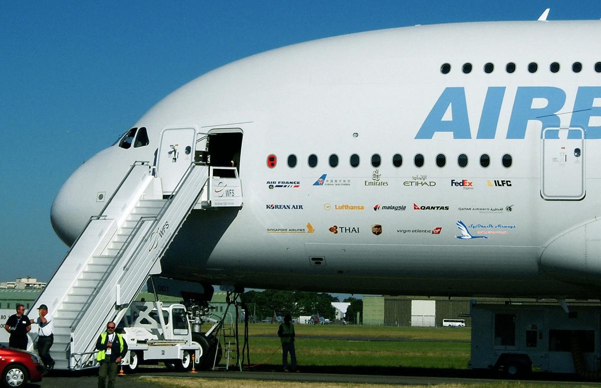 Двухэтажный самолет