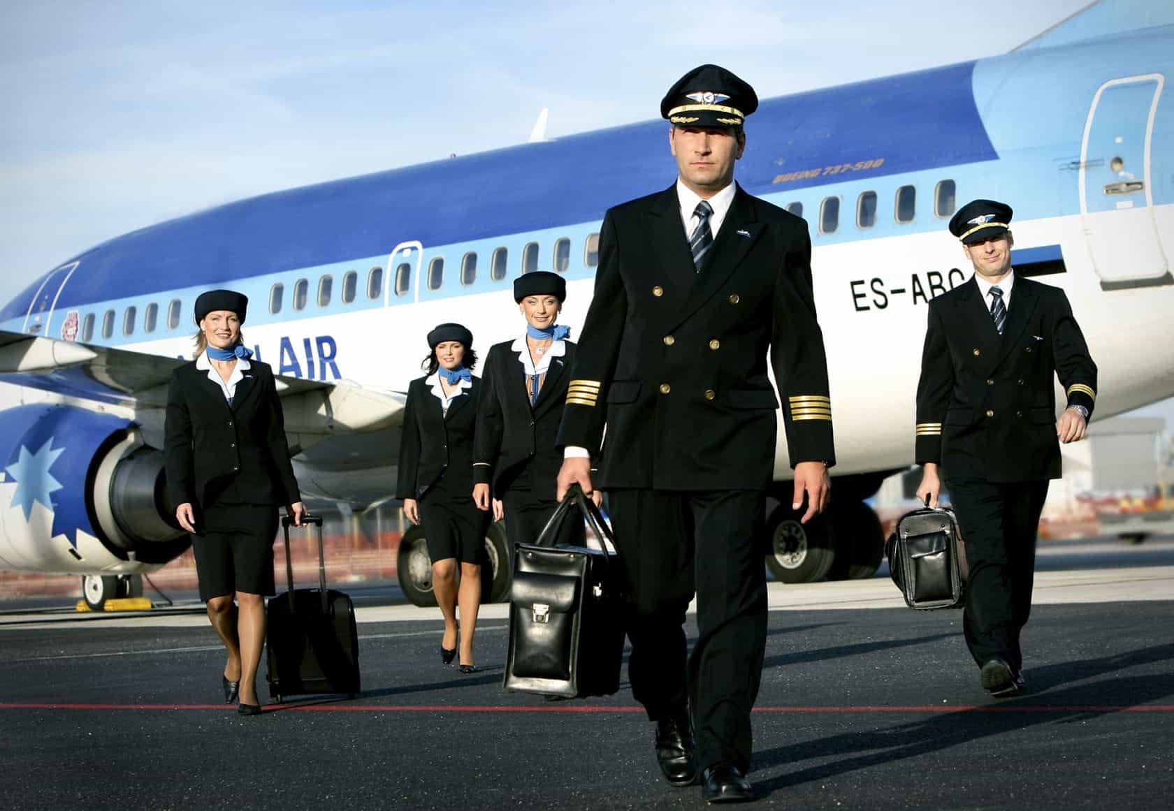 Заработная плата пилотов