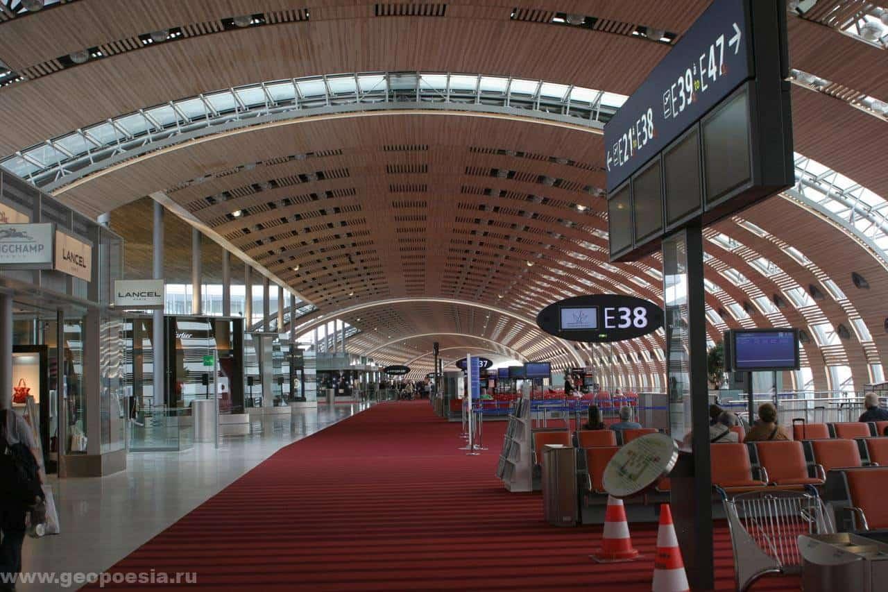 Территория аэропорта