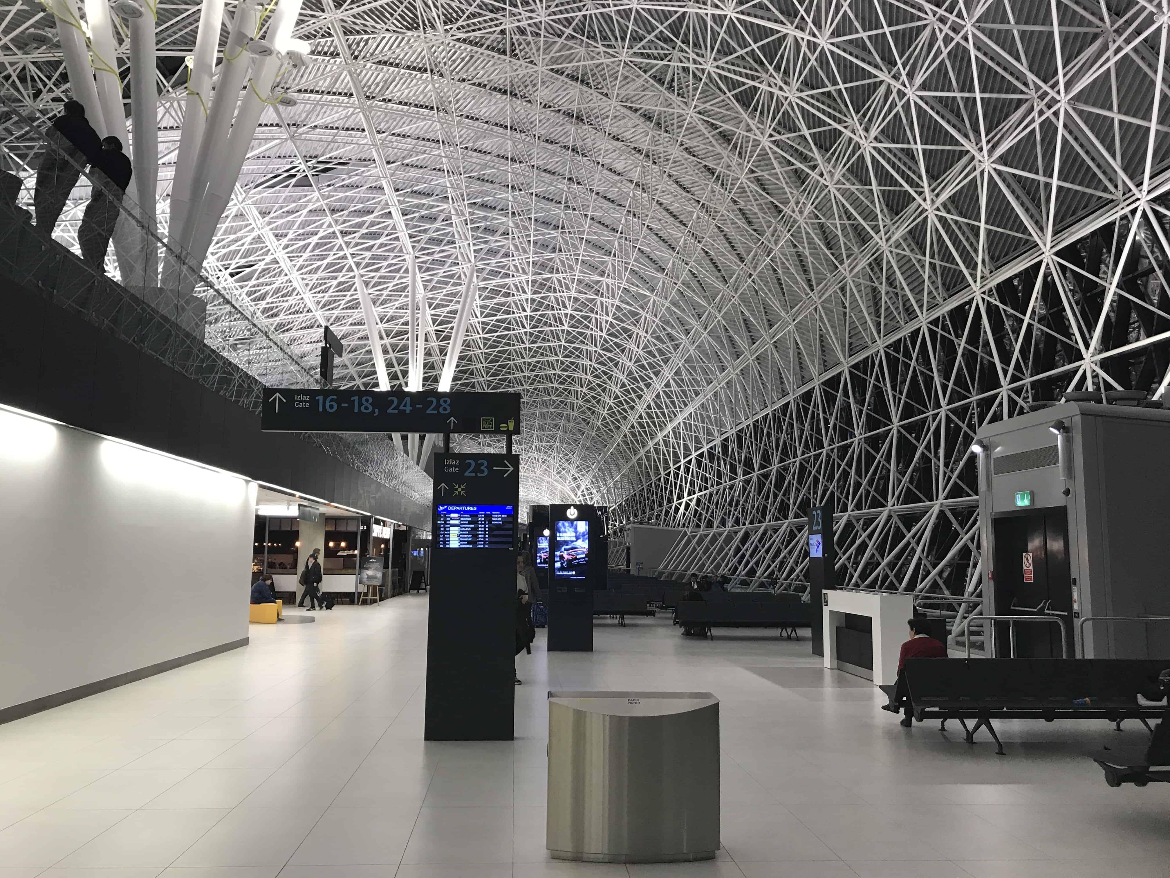 Аэропорт Загреб