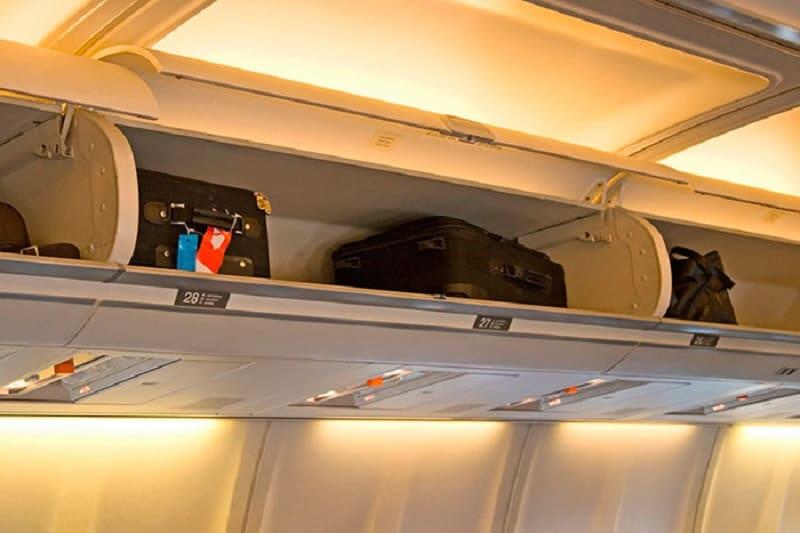 Багаж в салоне