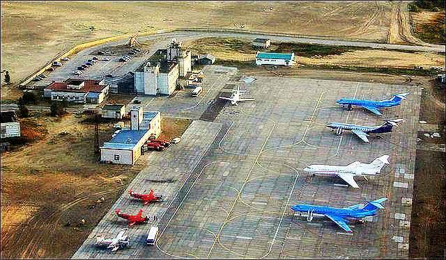 Аэропорт сверху