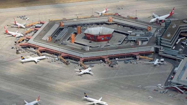 Вид аэропорта