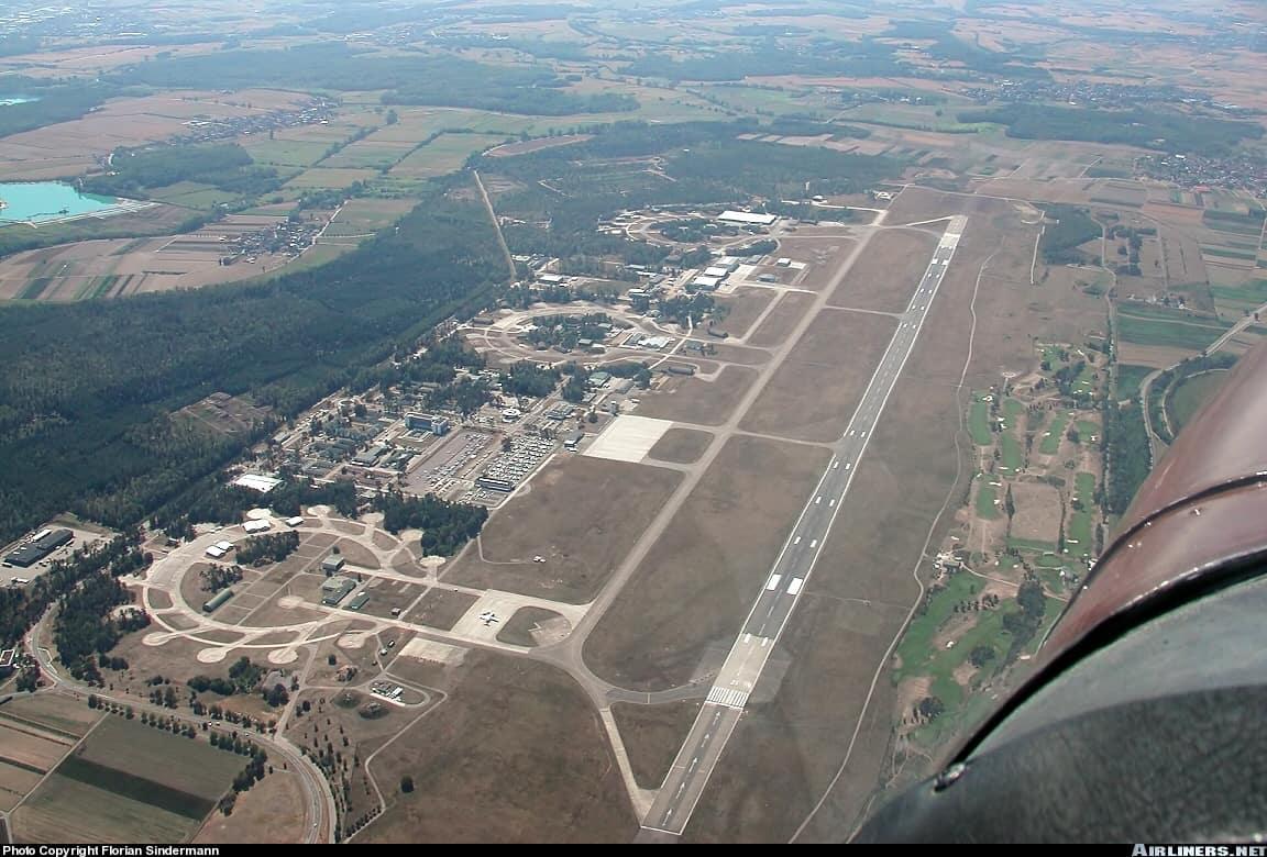 Вид аэропорта сверху
