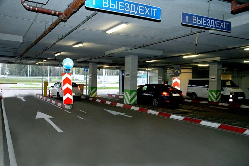 Крытая парковка